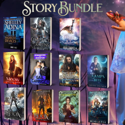 Story Bundle Kickass Heroines Square