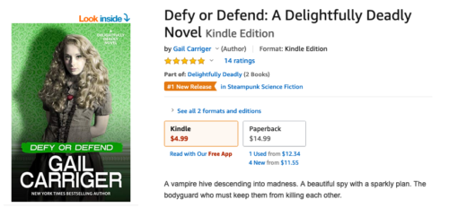Defy or Defend Best Seller Orange Flag