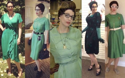 Green Gail Carriger Multiple Dresses