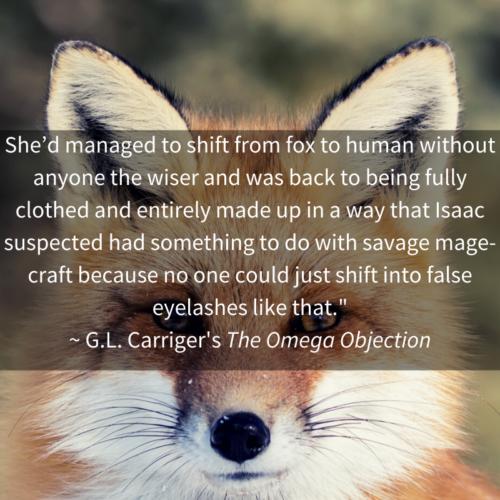 Quote Omega Mana Fox Shift Kitsune