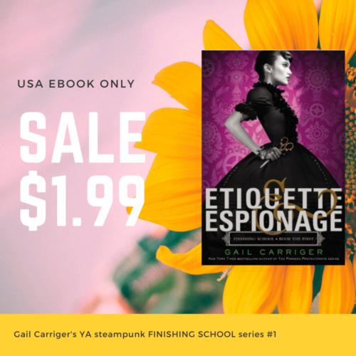 Etiquette & Espionage Gail Carriger Finishing School book one free sale