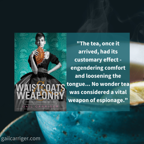 Waistcoats Tea Quote