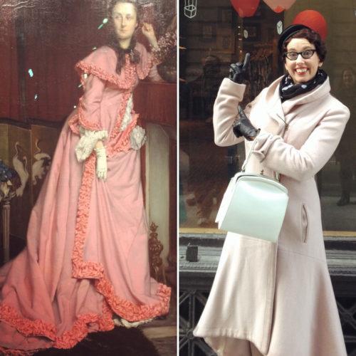 Gail Carriger Pink Coat Tissot Pink Robe