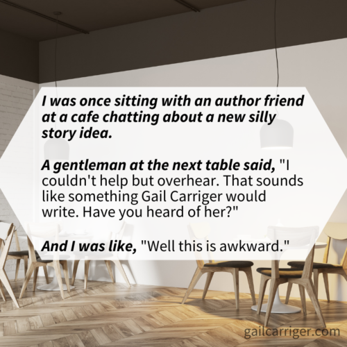 Gail Writer Recognized Cafe Quote